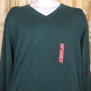 Zara Man cashmere v neck sweater mens sz XL